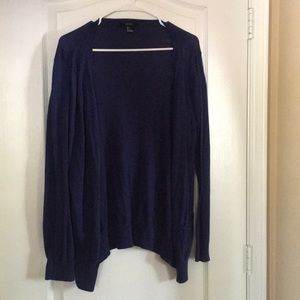 Dark Blue Navy Cardigan
